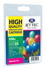 Jet Tec H88M remanufactured magenta HP88 C9392 ink printer cartridges