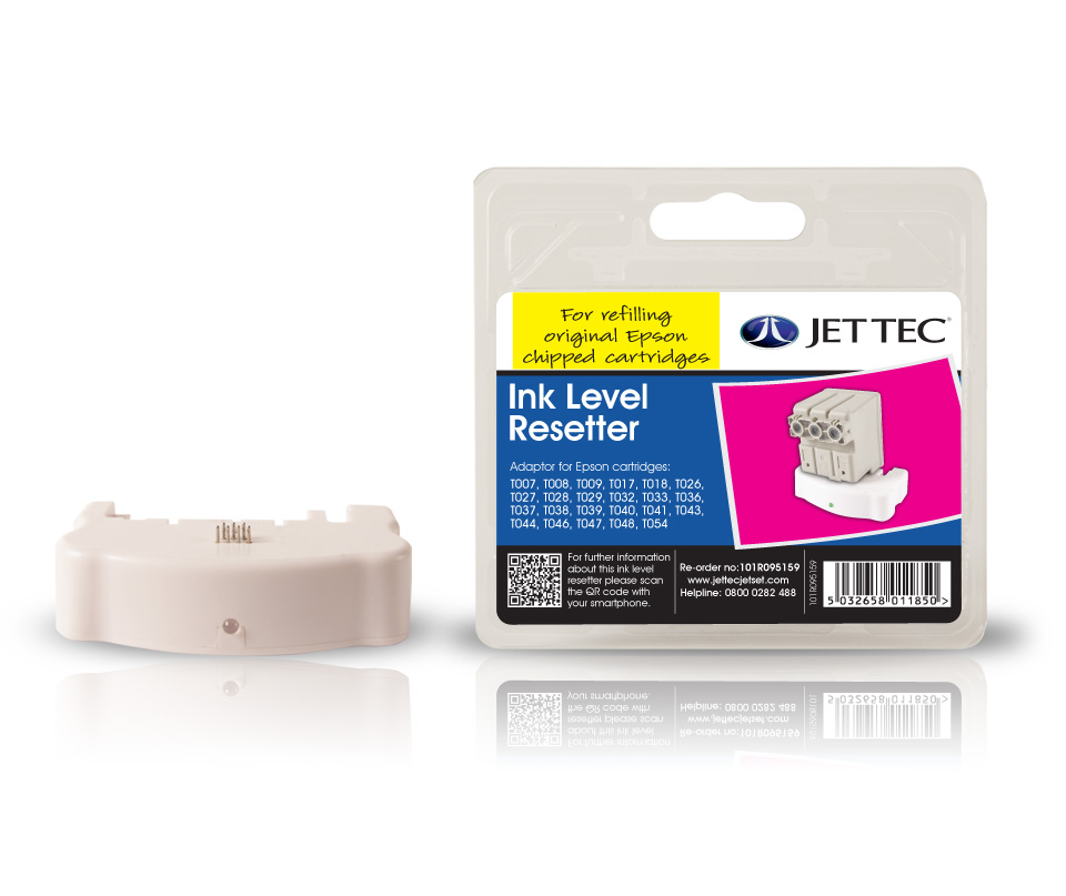 Jet Tec R53 cartridge chip resetter for Epson ink printer cartridges