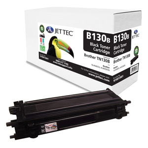 Jet Tec B130B remanufactured Brother TN130B laser toner cartridges