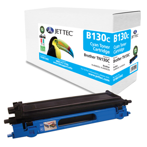 Jet Tec B130C remanufactured Brother TN130C toner printer cartridges