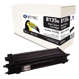 Jet Tec B135B remanufactured Brother TN135B toner printer cartridges