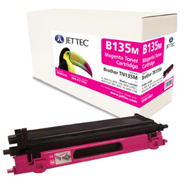 Jet Tec B135M remanufactured Brother TN135M laser toner cartridges