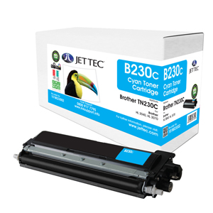 Jet Tec B230C remanufactured Brother TN230C laser printer cartridges