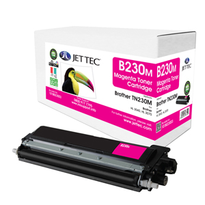 Jet Tec B230M remanufactured Brother TN230M laser toner cartridges