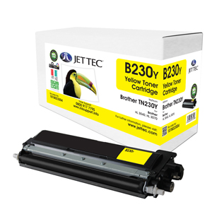 Jet Tec B230Y remanufactured Brother TN230Y toner printer cartridges