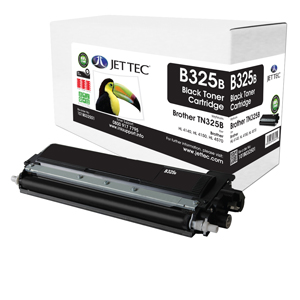 Jet Tec B325B remanufactured Brother TN325BK laser toner cartridges