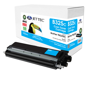 Jet Tec B325C remanufactured Brother TN325C laser toner cartridges