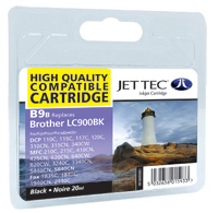 Jet Tec B9B black compatible cartridges Brother LC900 ink cartridges