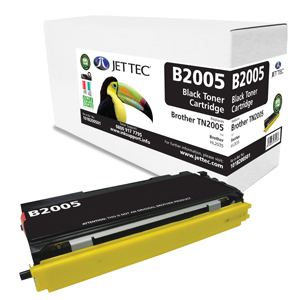 Jet Tec B2005 remanufactured Brother TN2005 laser toner cartridges