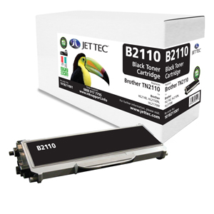 Jet Tec B2110 remanufactured Brother TN2110 laser toner cartridges