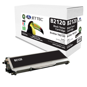 Jet Tec B2120 remanufactured Brother TN2120 laser toner cartridges