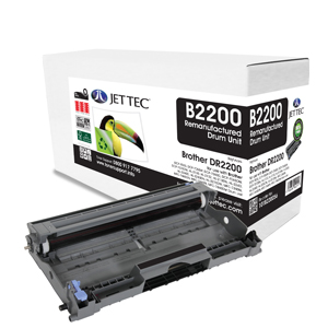 Jet Tec BD2200 remanufactured Brother DR2200 laser printer drum units