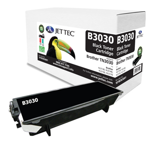 Jet Tec B3030 remanufactured Brother TN3030 laser printer cartridges