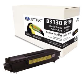 Jet Tec B3130 remanufactured Brother TN3130 laser printer cartridges