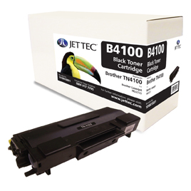 Jet Tec B4100 remanufactured Brother TN4100 laser toner cartridges