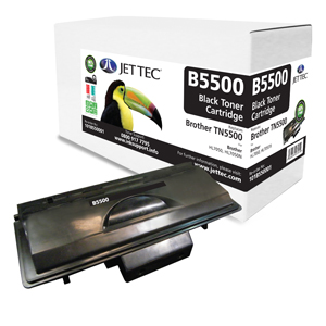Jet Tec B5500 remanufactured Brother TN5500 toner printer cartridges