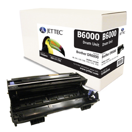 Jet Tec BD6000 remanufactured Brother DR6000 laser printer drum unit