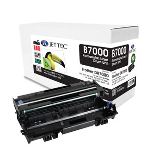 Jet Tec BD7000 remanufactured Brother DR7000 laser printer drum units