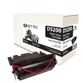 Jet Tec D5200 remanufactured Dell K2885 laser toner cartridges