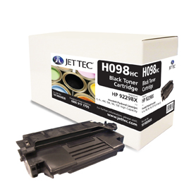 Jet Tec H098HC remanufactured HP92298X laser toner printer cartridges