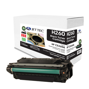Jet Tec H260 HP CE260A laser toner printer cartridges