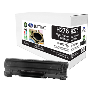 Jet Tec H278 remanufactured HPCE278A black laser toner cartridges