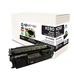 Jet Tec H280 HP CF280A laser toner printer cartridges