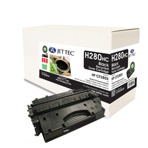 Jet Tec H280HC HP CF280X laser toner printer cartridges