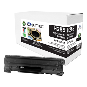 Jet Tec H285 remanufactured black HP CE285A inkjet printer cartridges