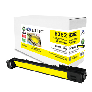 Jet Tec H382 HP CB382A laser toner printer cartridges