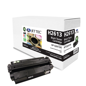 Jet Tec H2613 remanufactured black HP Q2613A laser toner cartridges