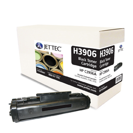 Jet Tec H3906 remanufactured black HP C3906A laser printer cartridges
