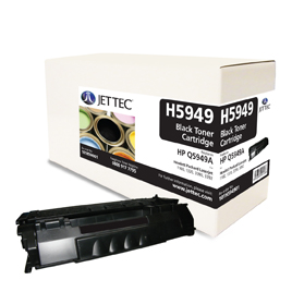 Jet Tec H5949 remanufactured black HP Q5949A laser toner cartridges