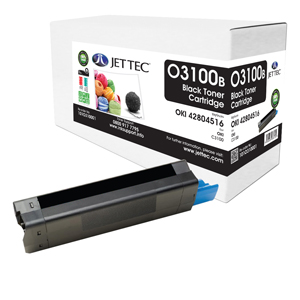 Jet Tec O3100B remanufactured OKI 42804516 toner printer cartridges