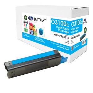 Jet Tec O3100C remanufactured OKI 42804515 laser printer cartridges