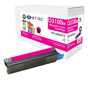Jet Tec O3100M remanufactured OKI 42804514 laser toner cartridges
