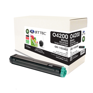 Jet Tec O4200 remanufactured OKI 1103402 laser toner cartridges