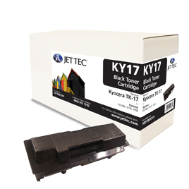 Jet Tec KY17 remanufactured Kyocera TK17 laser printer cartridges