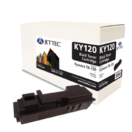 Jet Tec KY120 remanufactured Kyocera TK-120 toner printer cartridges