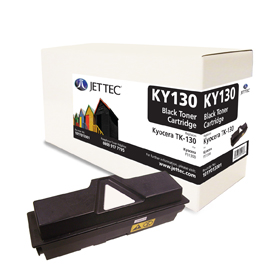 Jet Tec KY130 remanufactured Kyocera TK130 laser toner cartridges