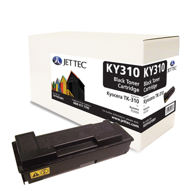 Jet Tec KY310 remanufactured Kyocera TK-310 laser toner cartridges