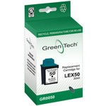 Greentech GR0050 remanufactured black Lexmark 17GOO50 print cartridges