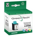 Greentech GR0060 remanufactured colour Lexmark 17GOO60 print cartridge
