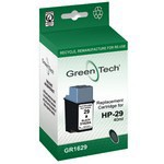 Greentech GR1629 remanufactured black HP 51629 ink printer cartridges