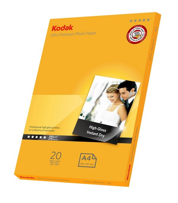 Kodak Ultra Premium Photo gloss 280g 5* A4 inkjet paper