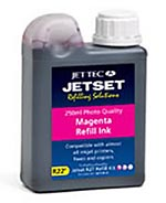 Jet Tec R22M all purpose universal magenta cartridges refill kit 250ml