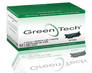 GreenTech RT723C remanufactured Canon 723C cyan laser toner cartridges