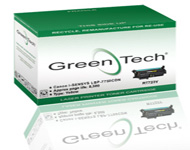GreenTech RT723Y recycled Canon 723Y yellow laser toner cartridges