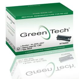 GreenTech RTTN2005 remanufactured Brother TN2005 laser cartridges