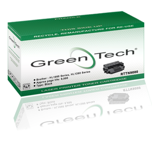 GreenTech RTTN9000 remanufactured Brother TN9000 laser toner cartridge